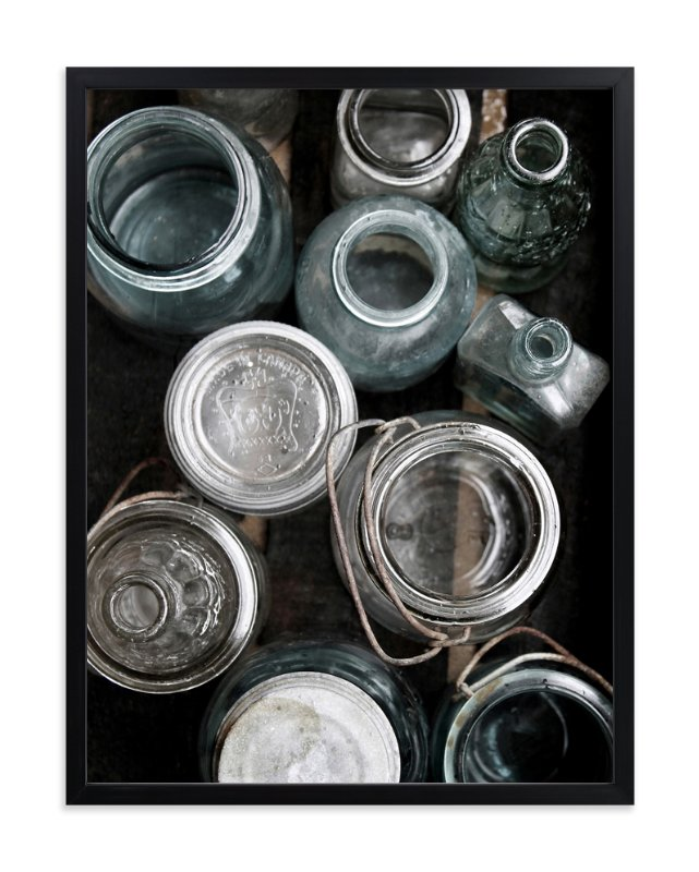 """Bottle Bonanza l"" - Art Print by Debra Pruskowski in beautiful frame options and a variety of sizes."