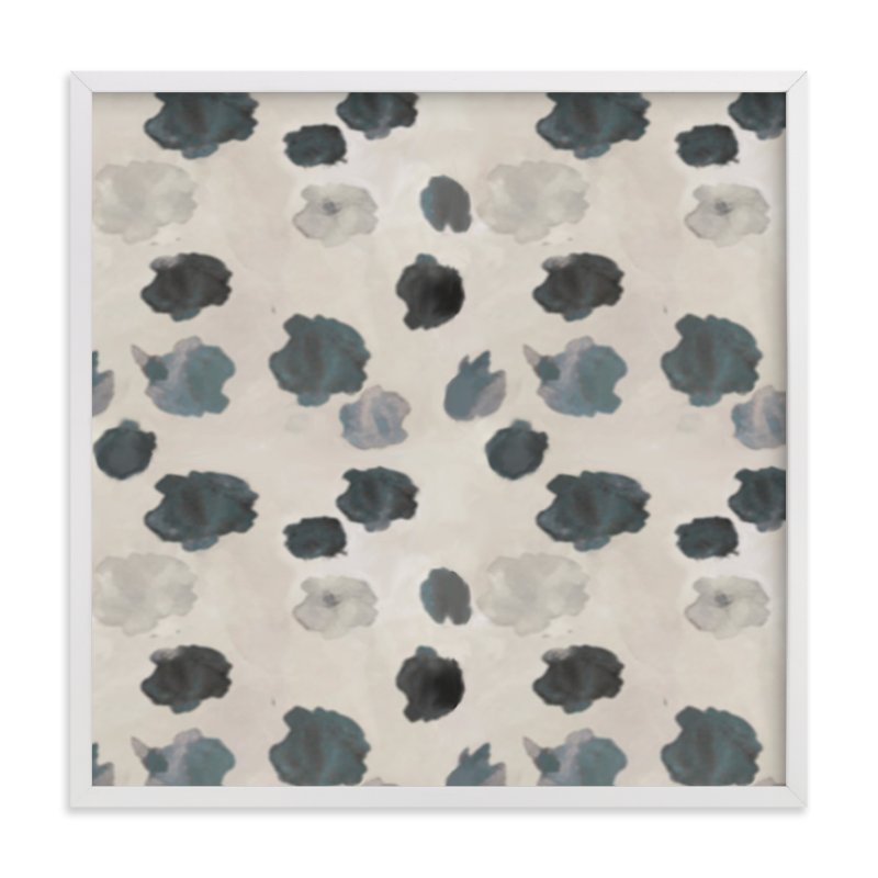 """""""Dalmatian Dots"""" - Art Print by Melissa Marcarelli in beautiful frame options and a variety of sizes."""