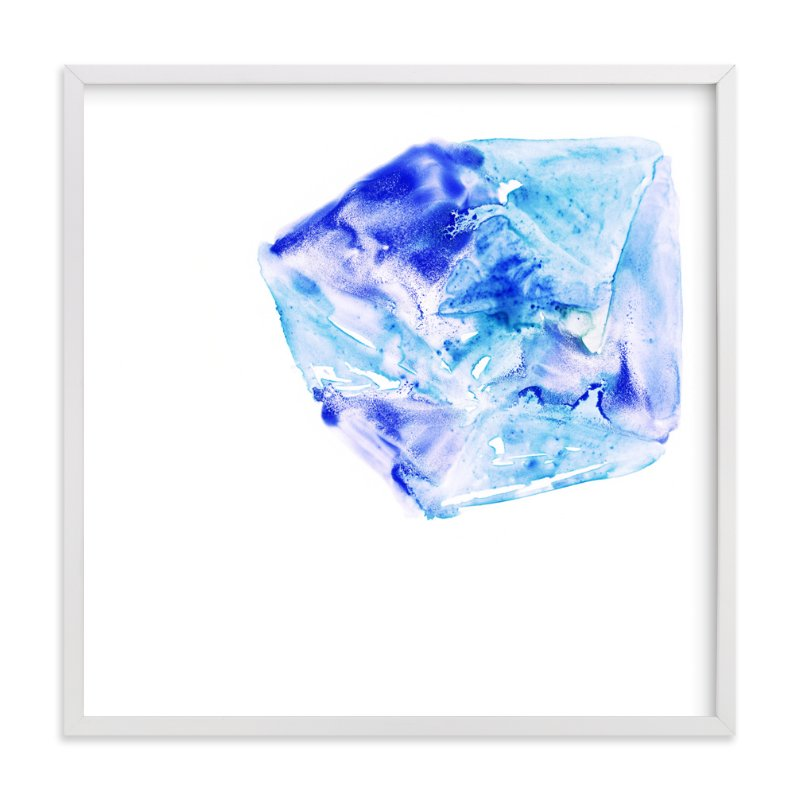 """""""Ice Thaw"""" - Art Print by Michelle Waldie in beautiful frame options and a variety of sizes."""