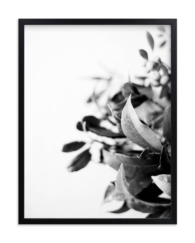 """Berry bouquet"" - Art Print by Stylisti in beautiful frame options and a variety of sizes."