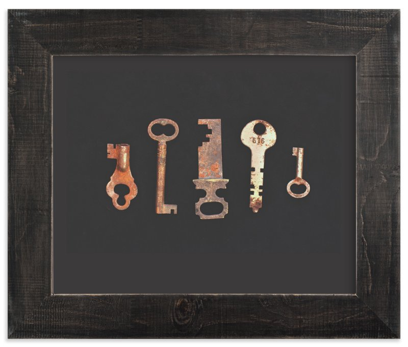 """Unlock the Past"" - Art Print by Elemental in beautiful frame options and a variety of sizes."