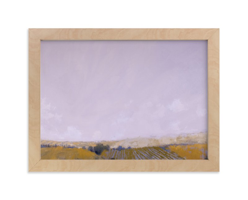 """Patchwork Fields"" - Art Print by Kara Schlabaugh in beautiful frame options and a variety of sizes."