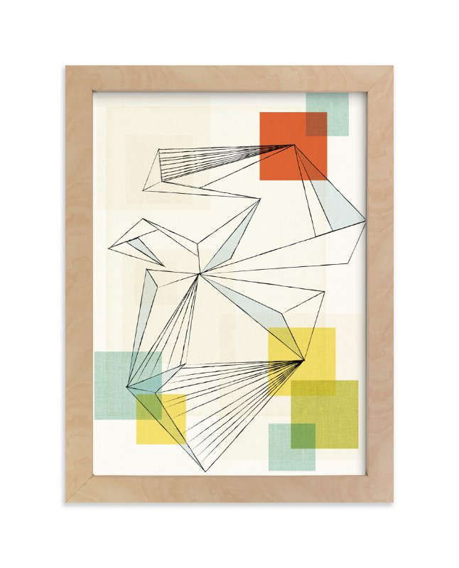 """""""We are all connected"""" - Art Print by Jennifer Morehead in beautiful frame options and a variety of sizes."""