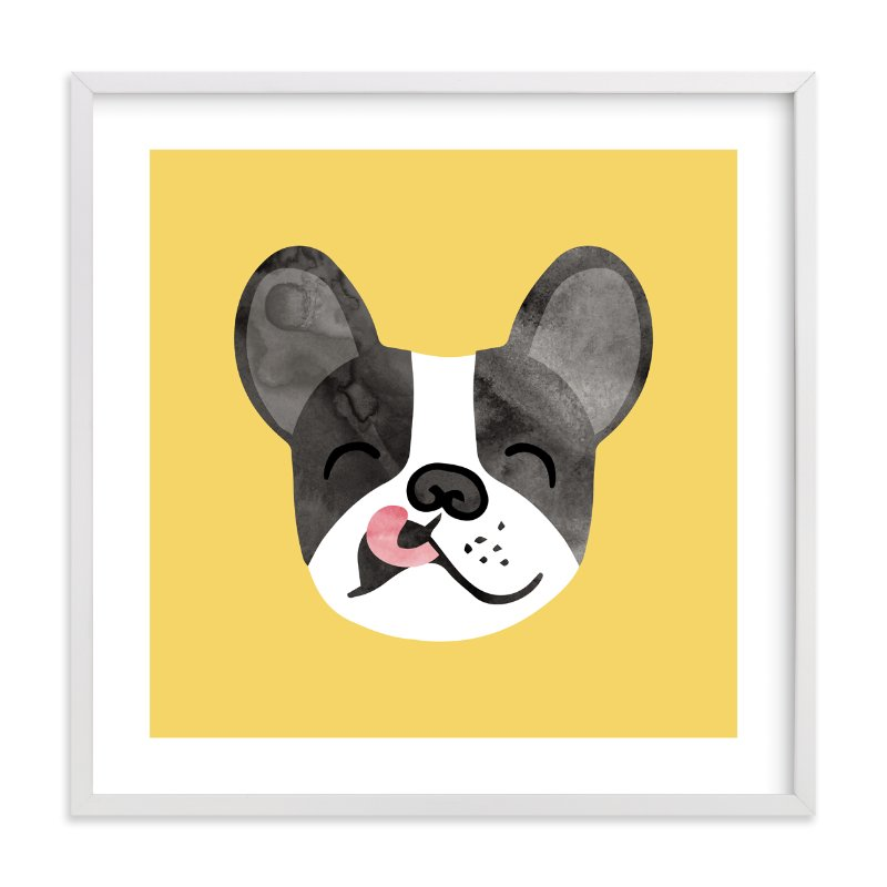 """Little Pup"" - Limited Edition Art Print by Tayler Mitchell in beautiful frame options and a variety of sizes."