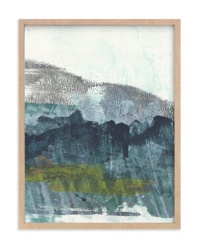 """Scape of the Land 2"" - Art Print by Jennifer Daily in beautiful frame options and a variety of sizes."