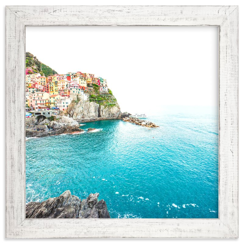 """Above the Sea"" - Art Print by Molly Goodman in beautiful frame options and a variety of sizes."