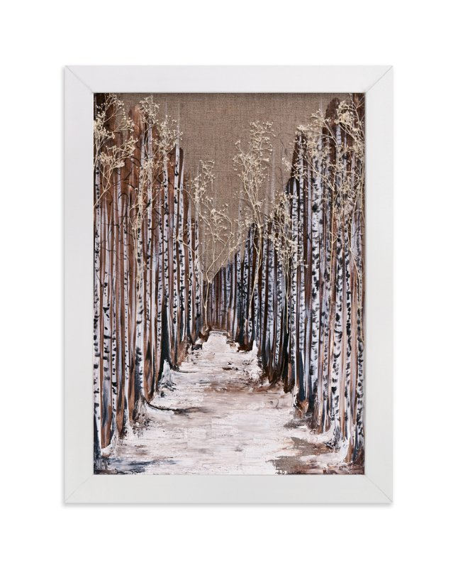 """""""Aspen Grove"""" - Art Print by Emily Magone in beautiful frame options and a variety of sizes."""