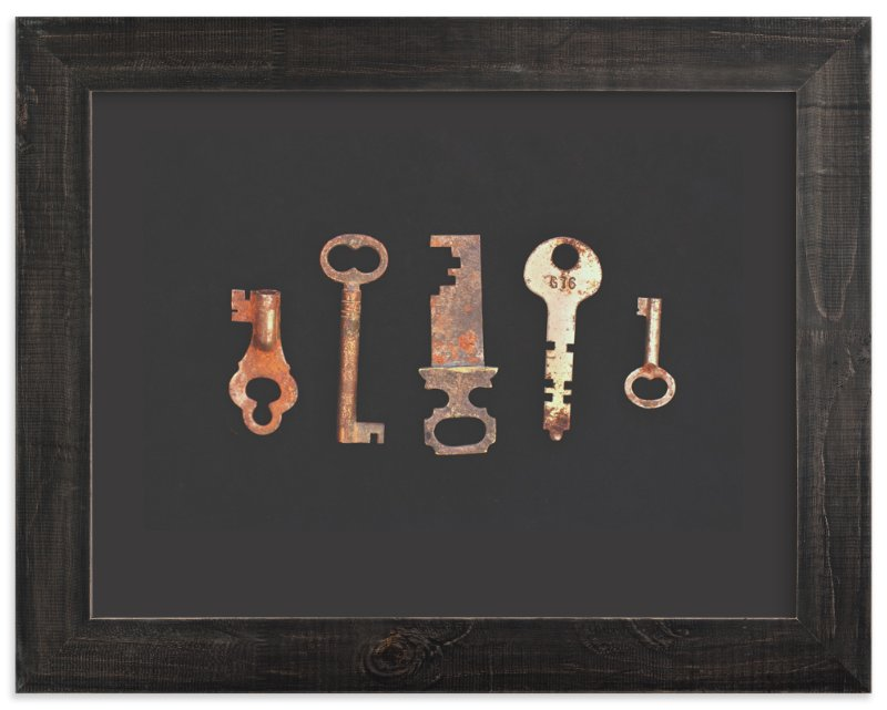 """""""Unlock the Past"""" - Art Print by Elemental in beautiful frame options and a variety of sizes."""