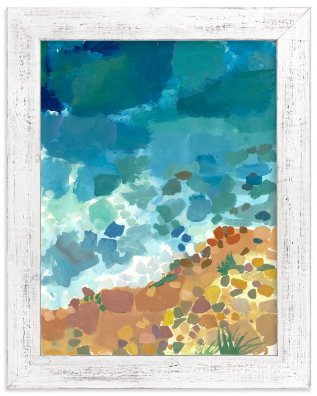 """Ocean Shades"" - Art Print by Carol Dysart in beautiful frame options and a variety of sizes."