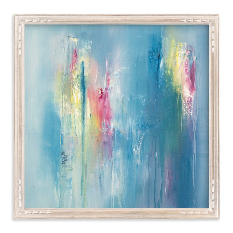 """Unrequited Color"" - Art Print by Laura Viapiano in beautiful frame options and a variety of sizes."