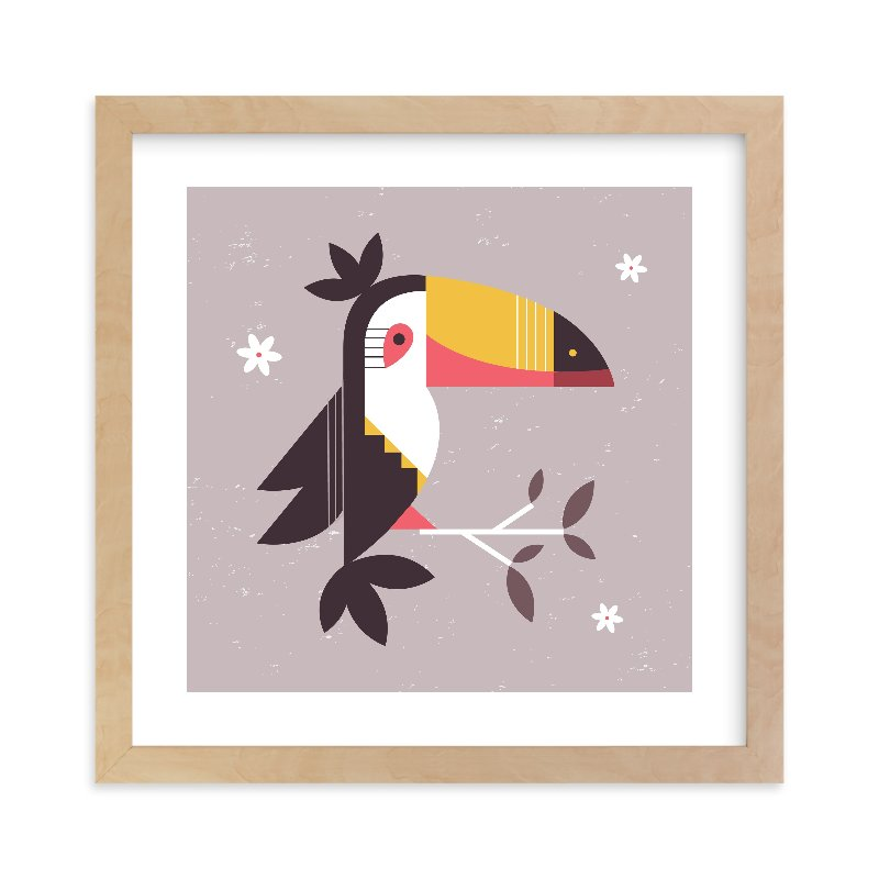 """""""Birds of A Feather 2"""" - Limited Edition Art Print by Kristen Smith in beautiful frame options and a variety of sizes."""
