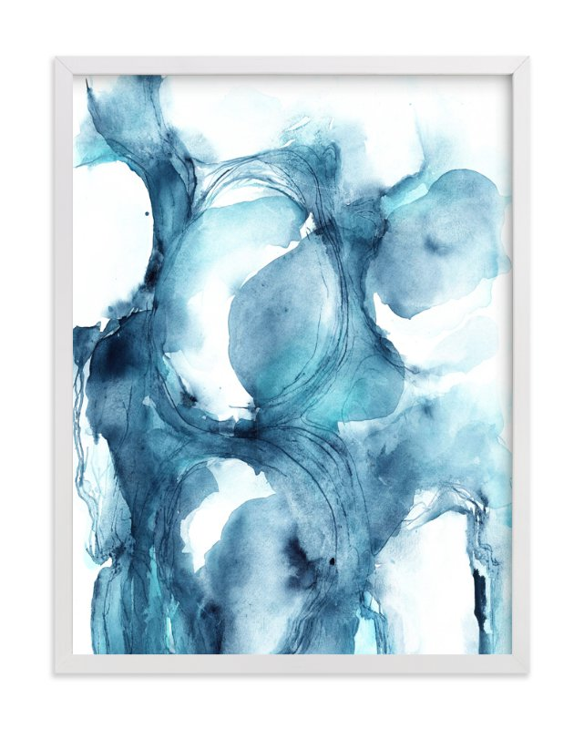 """Intuition"" - Art Print by Mya Bessette in beautiful frame options and a variety of sizes."
