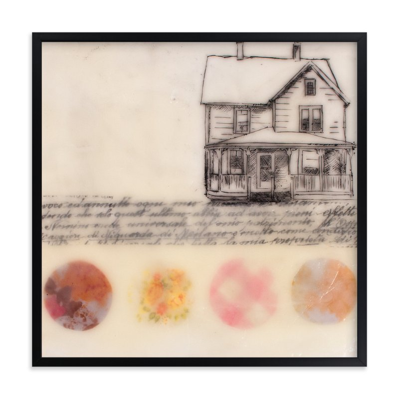 """A Study of Home II"" - Art Print by Two if by Sea Studios in beautiful frame options and a variety of sizes."