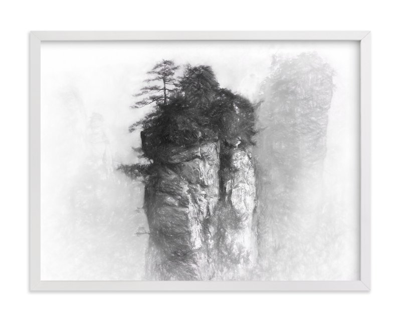 """Floating"" - Art Print by Brian Lee in beautiful frame options and a variety of sizes."