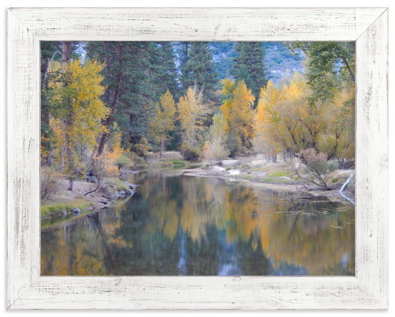 """""""Yosemite Fall"""" - Art Print by Jan Kessel in beautiful frame options and a variety of sizes."""