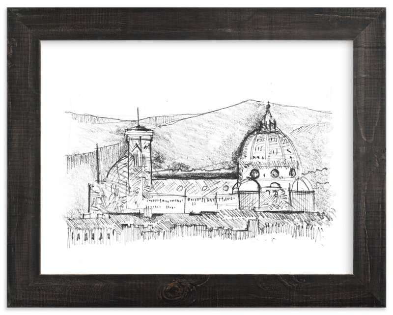 """""""strokes from Renaissance"""" - Art Print by van tsao in beautiful frame options and a variety of sizes."""