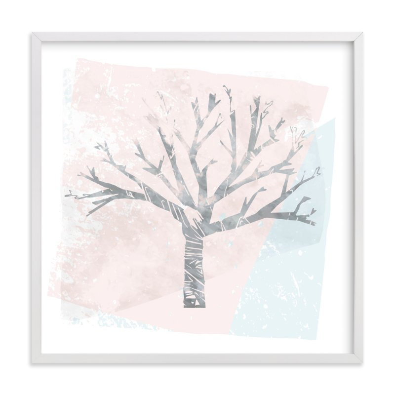 """Winter Twilight"" - Art Print by Melissa Ponicsan in beautiful frame options and a variety of sizes."