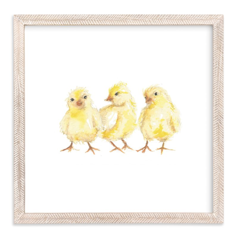 Baby Chicks Wall Art Prints By Carrie Beth Taylor Minted