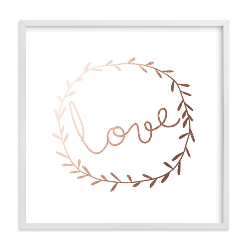 """Love Is Always There"" - Art Print by Angela Thompson in beautiful frame options and a variety of sizes."
