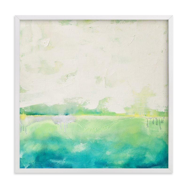"""""""Eco City"""" - Art Print by Julia Contacessi in beautiful frame options and a variety of sizes."""
