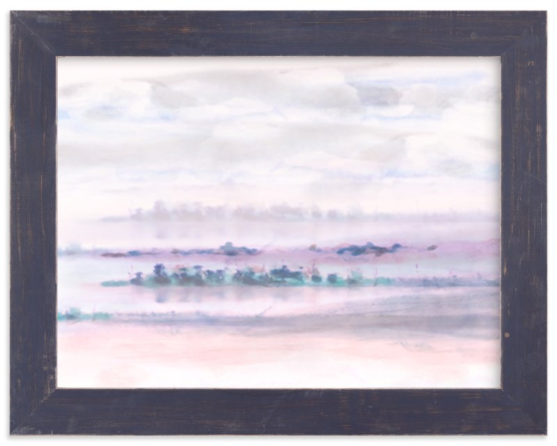 """Peninsula"" - Art Print by Grace Kreinbrink in beautiful frame options and a variety of sizes."