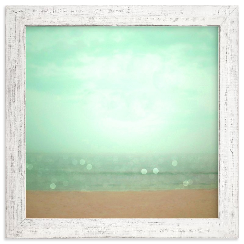 """""""Sand Sea Sky"""" - Art Print by Nancy Bergen Gillmer in beautiful frame options and a variety of sizes."""
