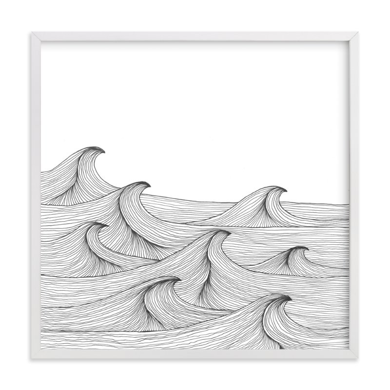 """drift"" - Art Print by Naomi Ernest in beautiful frame options and a variety of sizes."