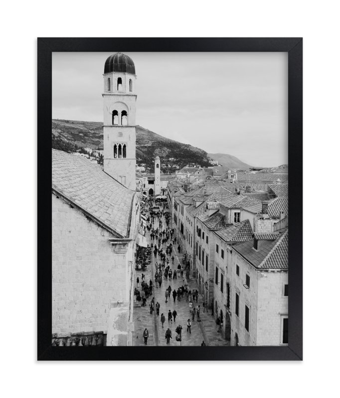 """Dubrovnik"" - Art Print by Amanda Radziercz in beautiful frame options and a variety of sizes."