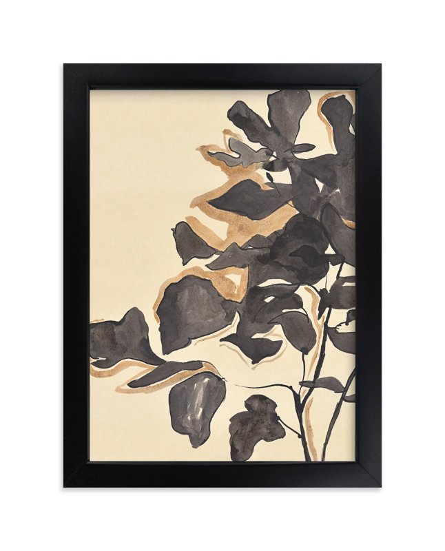 """""""Young Fig"""" - Art Print by Laura Condouris in beautiful frame options and a variety of sizes."""