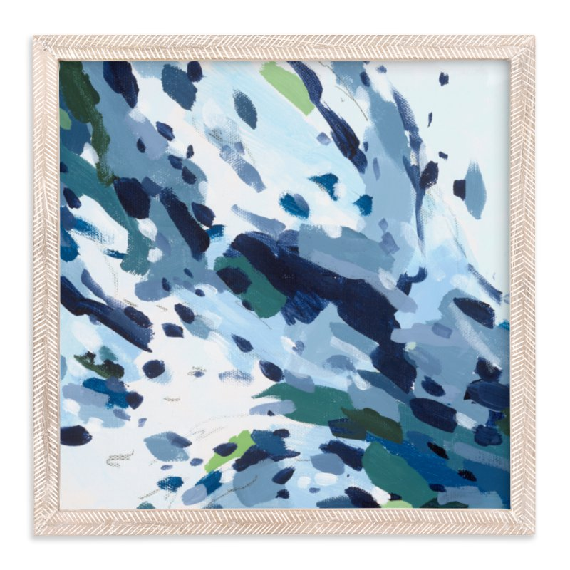 """""""Verdant Ocean"""" - Art Print by Katie Craig in beautiful frame options and a variety of sizes."""