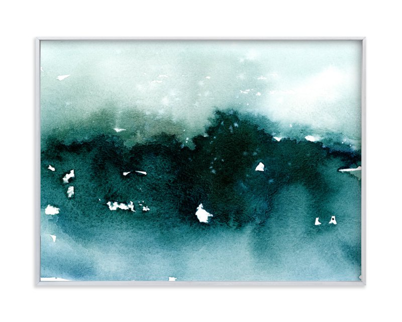 """Distant Dusk II"" - Art Print by Lindsay Megahed in beautiful frame options and a variety of sizes."