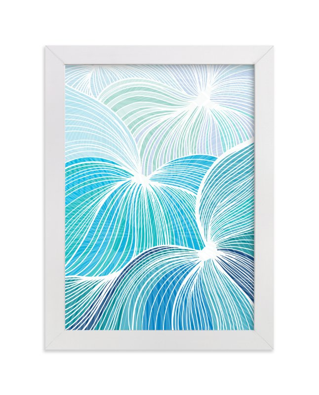 """""""Flow"""" - Art Print by Gill Eggleston in beautiful frame options and a variety of sizes."""