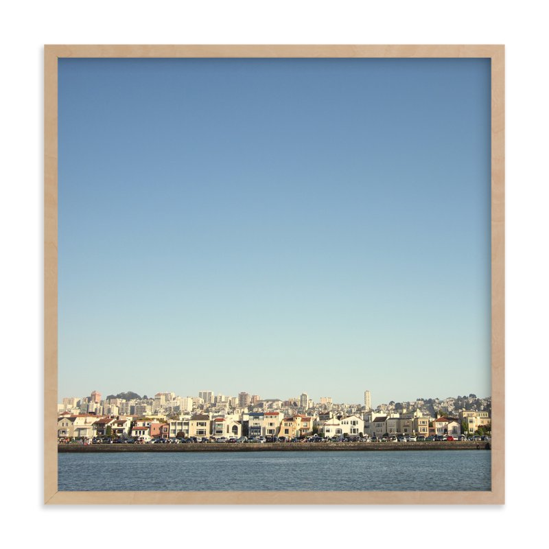 """""""Bayside"""" - Art Print by Alexandra Nazari in beautiful frame options and a variety of sizes."""