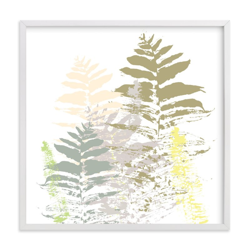 """Fern Palooza"" - Art Print by Aimee Siberon in beautiful frame options and a variety of sizes."