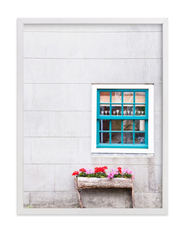 """A Little Window"" - Art Print by Alexandra Feo in beautiful frame options and a variety of sizes."