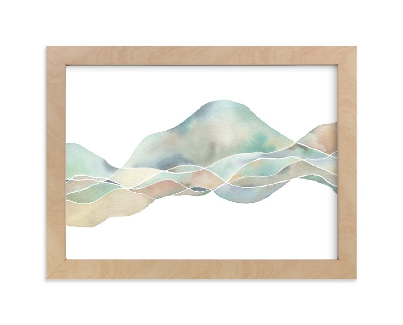 """""""Marin"""" - Art Print by Jennifer Daily in beautiful frame options and a variety of sizes."""