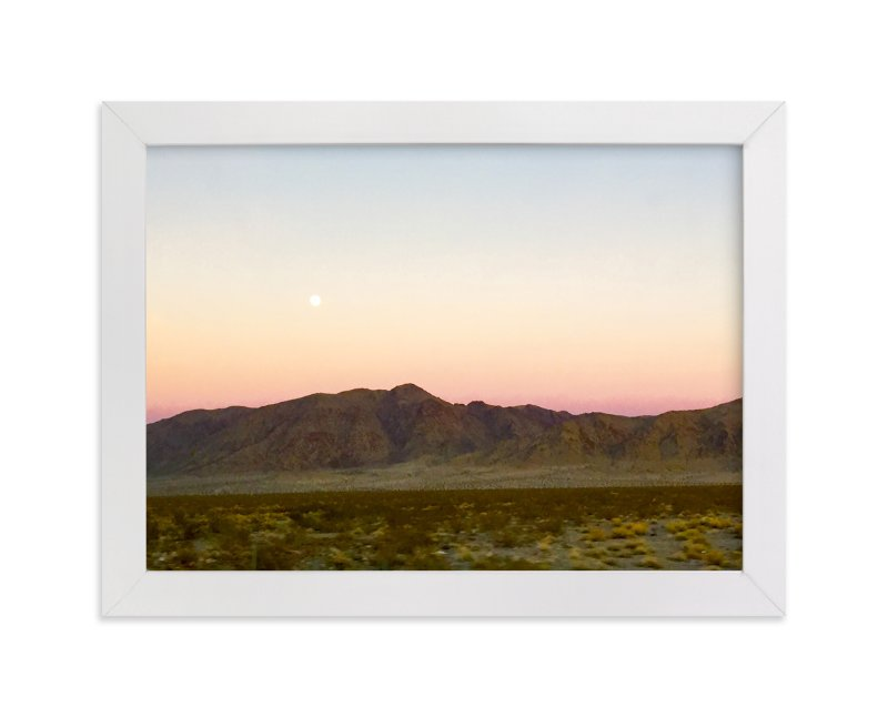 """""""Lunar Phase 1"""" - Limited Edition Art Print by Leah Lenz in beautiful frame options and a variety of sizes."""