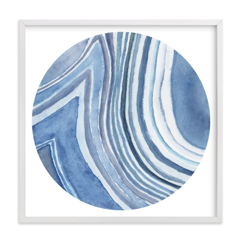 """Mineral 01"" - Art Print by Lily Hanna in beautiful frame options and a variety of sizes."