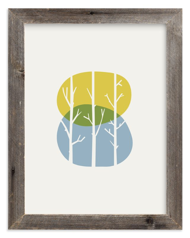 """Nature Balance"" - Art Print by iamtanya in beautiful frame options and a variety of sizes."