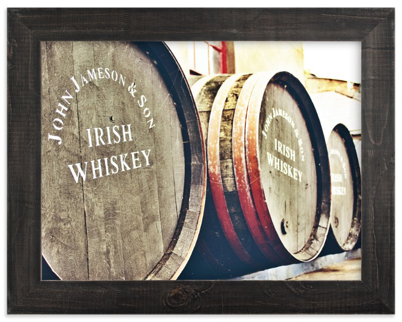 """Barrels & Barrels "" - Art Print by Brittany Bay in beautiful frame options and a variety of sizes."