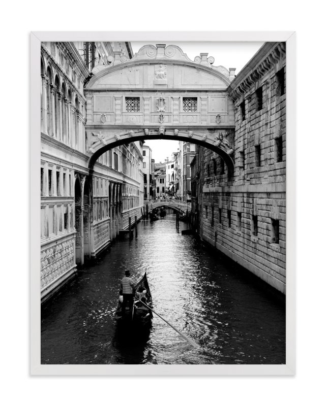 """""""Bridge of Sighs Venice"""" - Art Print by Jessica Kimball in beautiful frame options and a variety of sizes."""