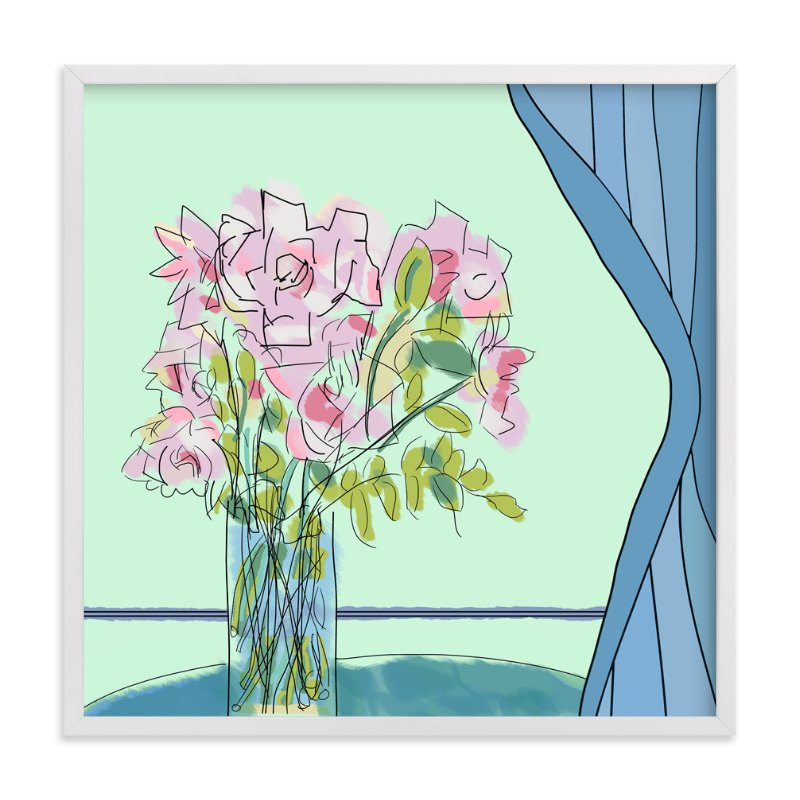 """""""The Scent of You"""" - Art Print by Stuart Heir in beautiful frame options and a variety of sizes."""