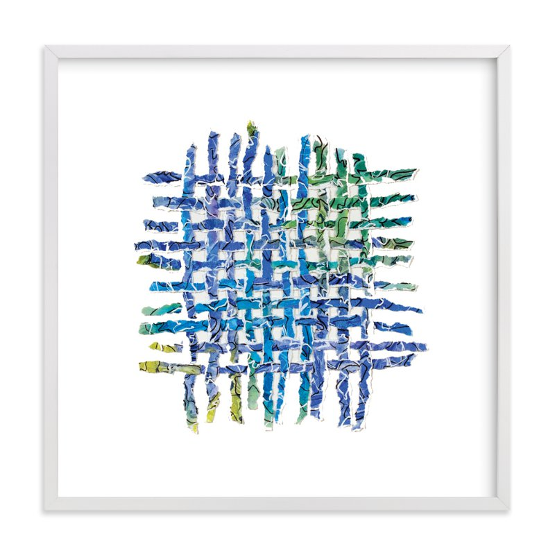 """""""Tidal Dance"""" - Art Print by Becky Kisabeth Gibbs in beautiful frame options and a variety of sizes."""