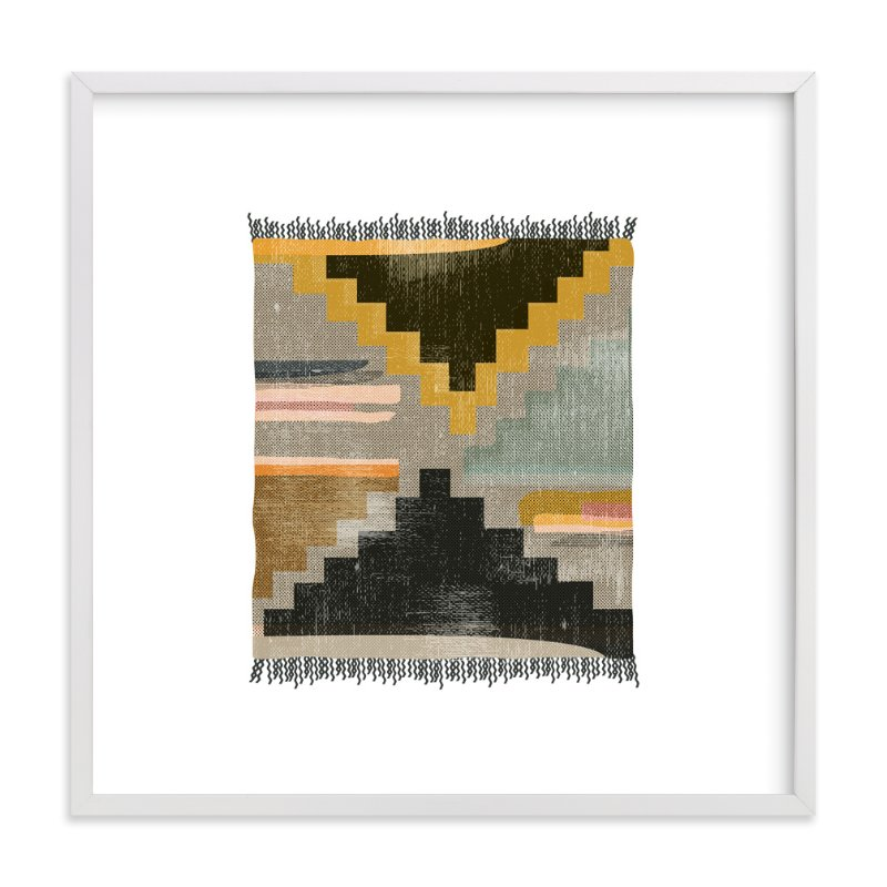 """Tapestry 4"" - Art Print by Kate Capone aka Oh So Suite in beautiful frame options and a variety of sizes."