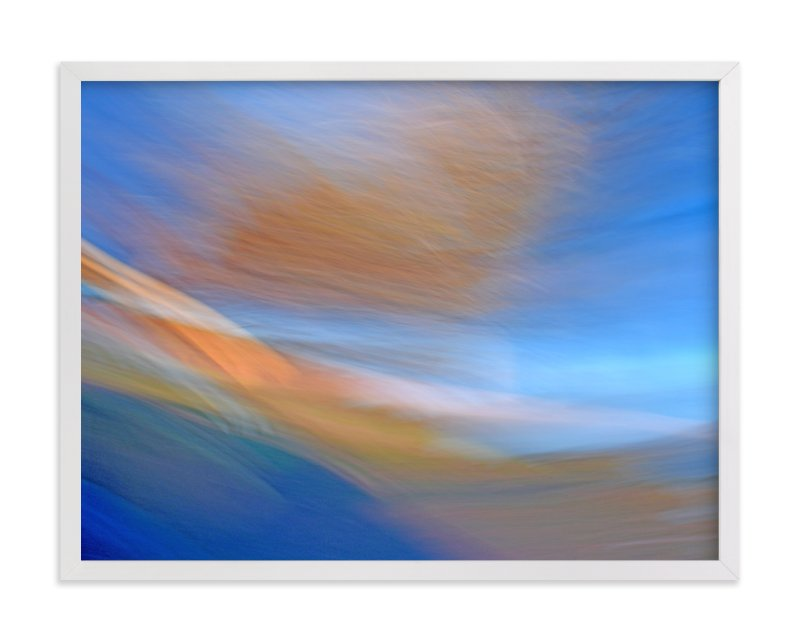 """Abstractscape31"" - Art Print by NSMARK in beautiful frame options and a variety of sizes."