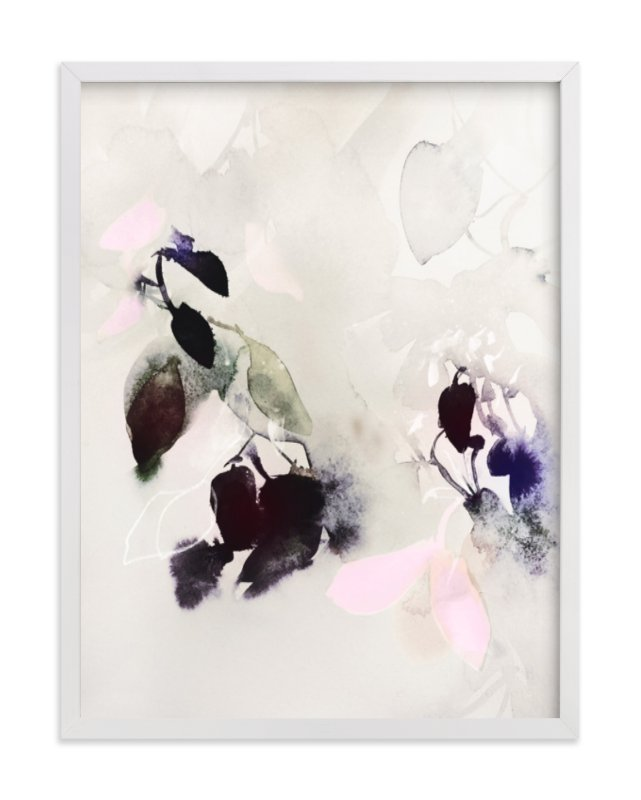 """Evening Flora"" - Art Print by Marta Spendowska in beautiful frame options and a variety of sizes."