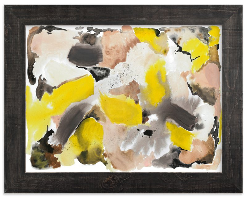 """School Day Abstract"" - Art Print by Erika Firm in beautiful frame options and a variety of sizes."