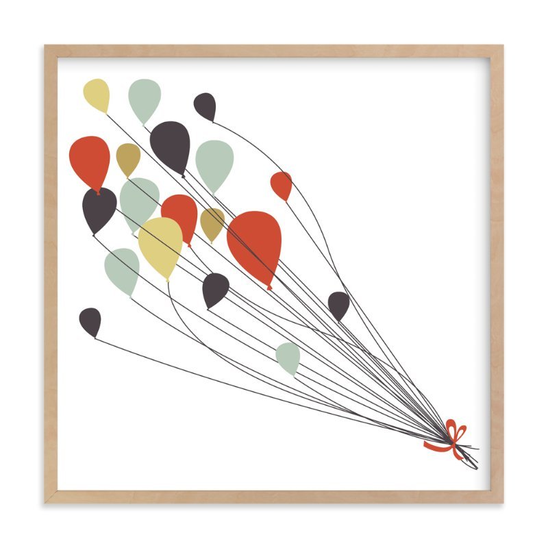 """Up and Away"" - Art Print by Sharon Rowan in beautiful frame options and a variety of sizes."