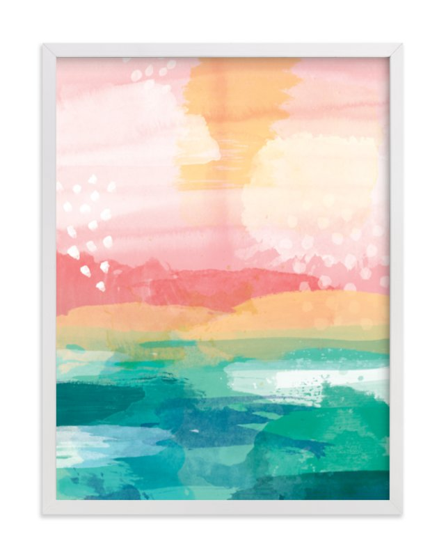 """New Day"" - Limited Edition Art Print by Jess Phoenix in beautiful frame options and a variety of sizes."