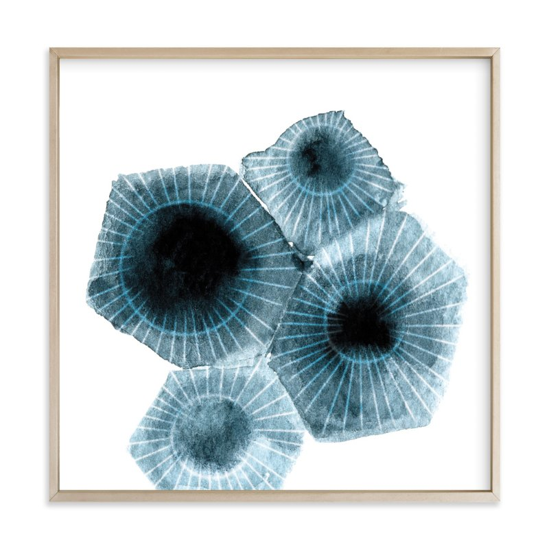 Fossilized Rock Wall Art Prints By Frooted Design | Minted
